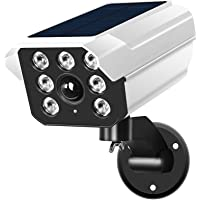 JYDirect Solar Motion Sensor Light Outdoor - 2400Lumens LED Spotlight 8-Watt IP66 Waterproof, Wireless Solar Flood…