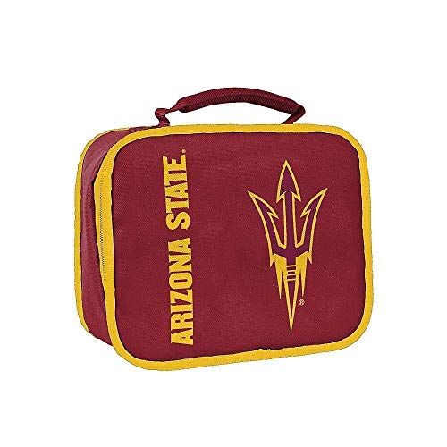 The Northwest Company NCAA Arizona State Sun Devils Sacked Insulated Lunch Cooler Bag