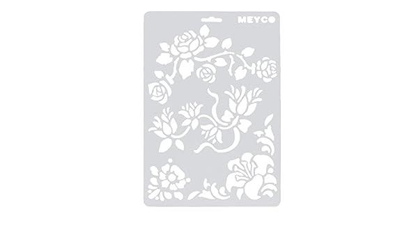 DIY Tarjeta de papel estampado, ikevan 3pc suave plástico ...