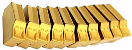 LIZANAN 10pcs 2.2mm ZQMX 2N11-1E SP200 GTN- Grooving Cut-Off Carbide Insert CNC Tool Grooving Inserts Carbide Cutters