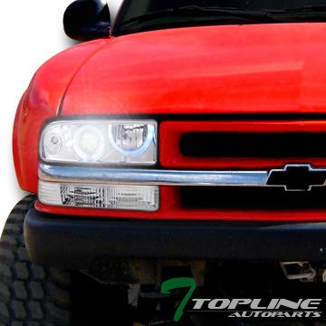 Topline autopart 6000 K HID Xenon proyector de Halo LED Chrome ...