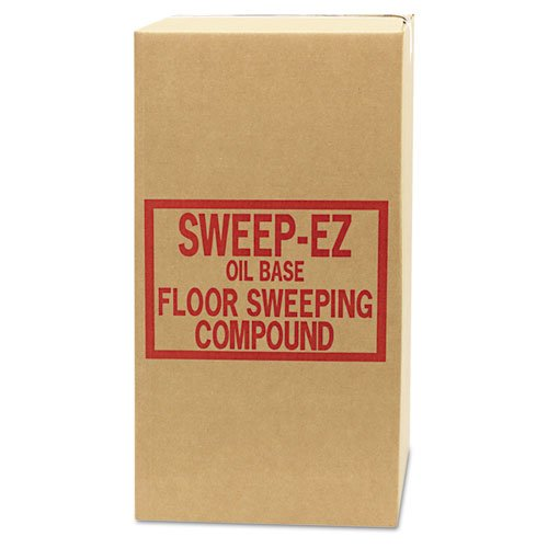 Sorb-All Oil-Based Sweeping Compound, Grit-Free, 50lbs, Box - one box. ()