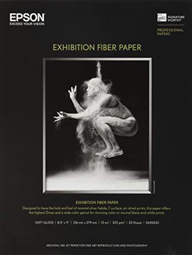 Epson Paper, Exhibition Fiber Paper, 8.5 inch ()
