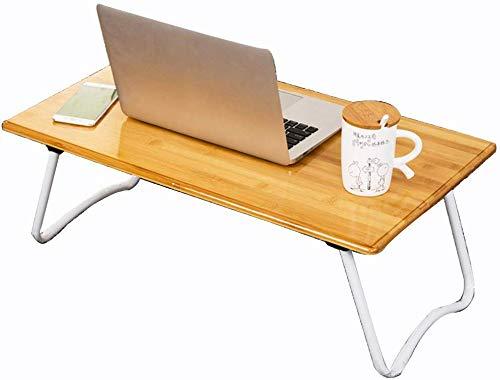 WGG Mesa Mesa de escritorio Escritorio de madera Lap Juego de mesa ...