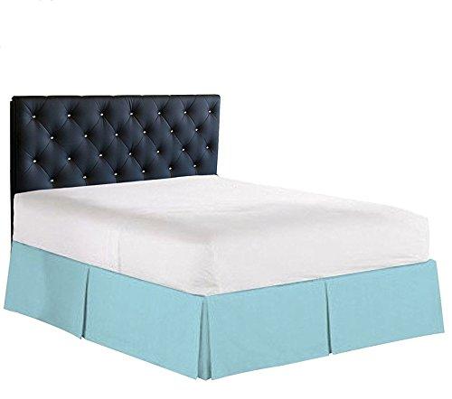 Plum Brand !! 600 TC !! 100% Egyptian Cotton Split Corner Bed Skirt - 21