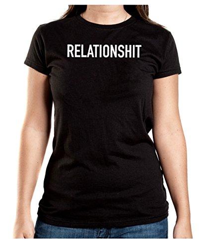 Relationshit T-Shirt Girls Black Certified Freak
