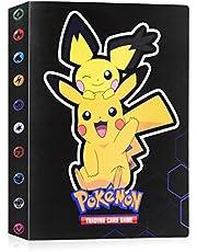 JOYUE Pokemon-plakboek, Pokemon-kaartenalbum, Pokemon-kaarthouder, Pokemon-map, kaartenalbum, boek, Pokemon-kaarten, GX EX-trainer albums, 30 pagina's met 240 kaarten capaciteit