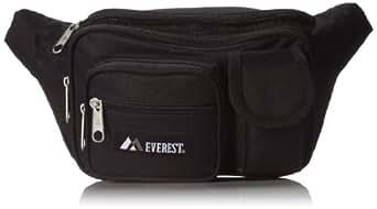 Everest 044MDH Multiple Pocket Fanny Pack (Price/Each), Everest Fanny Pack-Black
