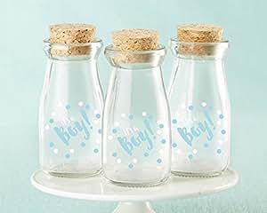 Vintage de cristal es un niño leche tarros con corcho - Set de 36: Amazon.es: Hogar