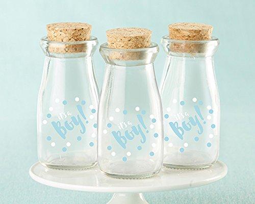 60 It's A Boy Milk Jars