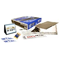 GTMAT 36 sqft **BULK PACK** Automotive Audio Constrained Layer Dampening 80mil ULTRA – Sound Deadening Installation Kit Includes: 36sqft Roll (qty 9- 36in X 16in sheets), Instruction Sheet, Application Roller, Degreaser, GT MAT Decals