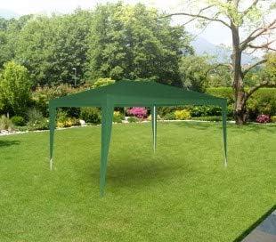 GR-DL-G7004 Pérgola para jardín con marco de acer en varios colores (2x3 m) - Verde: Amazon.es: Hogar