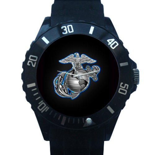 Christmas Gifts Classic USMC United States Marine Corps Marines Semper Fi Custom Plastic Watch by USMC Watch