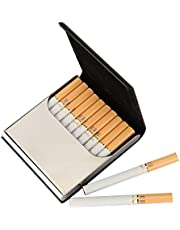 Leather Cigarette Case/Box/Holder Ultrathin Lightweight Exquisite and Portable Carrying