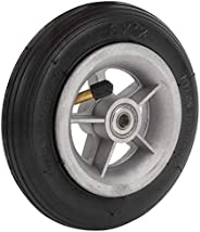 6x1 1/4 6‑inch Rubber Tire with Hub, Wear‑Resisting Electric Scooter Inflation Rubber Tyre Pneumatic Wheel Rep