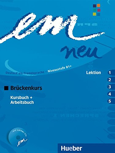 em-neu-2008-brckenkurs-deutsch-als-fremdsprache-kursbuch-arbeitsbuch-lektion-1-5-mit-arbeitsbuch-audio-cd-kurs-und-arbeitsbuch-lektion-1-5-mit-arbeitsbuch-audio-cd