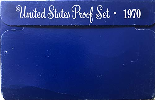 (1970 S US Proof set (RARE) Small DATE Comes in the Packaging from the US mint)
