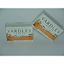 Yardley London Sensitive Skin Shea Buttermilk Soap - Pack of 2