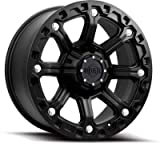 Gear Alloy 718B BLACKJACK Black Wheel (16x8''/8x6.5'', 0mm Offset)