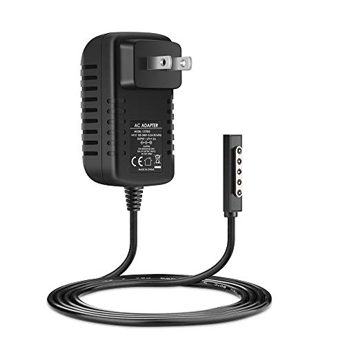 Surface RT Charger Surface Pro 1 Charger 12V 2A 24W Portable Charger Power Cord for Microsoft Surface RT Surface Pro 1 and Surface 2 Tablet