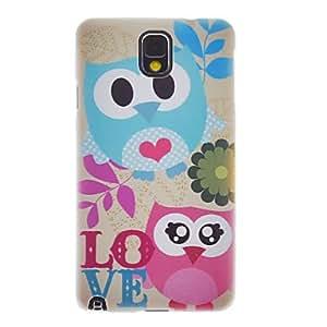YULIN Teléfono Móvil Samsung - Cobertor Posterior - Diseño Especial - para Samsung Galaxy Note 3 ( Multi-color , Plástico )