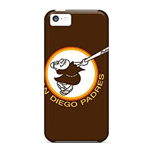 Top Quality Protection Baseball San Diego Padres 3 Case Cover For Iphone 5c