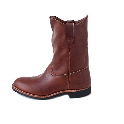Womens 3468 Amber Pecos Wing Red Boots Leather Z15T7nxq