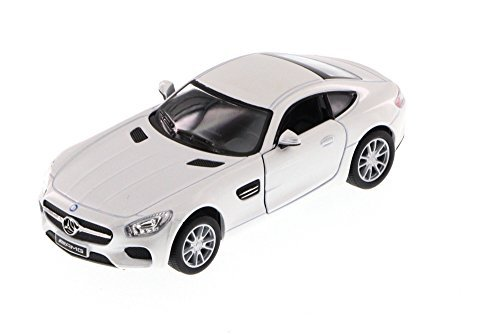 Kinsmart Mercedes-Benz AMG GT, White 5388D - 1/36 Scale Diecast Model Toy Car