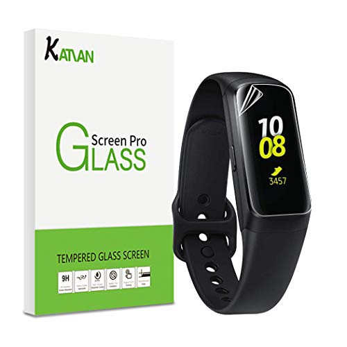 [6 Pack] KATIAN for Samsung Galaxy Fit TPU Screen Protector, HD Clear Protector [Anti-Scratch] [No-Bubble] [Case-Friendly] TPU Film for Samsung Galaxy Fit