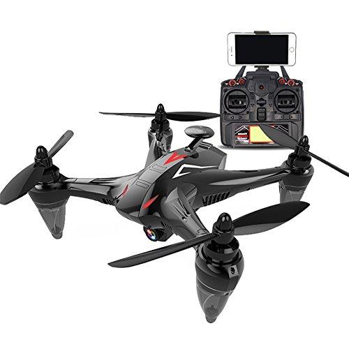 RaiFu GW198 ドローン GPS搭載 5G WIFI RCクアドコプター HDカメラ付き 安定性抜群 4軸 おもちゃ ギフトブラシレス 720P(レッド)