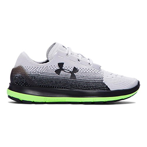 Under Armour Boys Grade School UA Speedform Slingride Running Shoes Glacier Grey