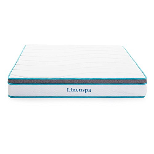 Review LinenSpa 8″ Memory Foam