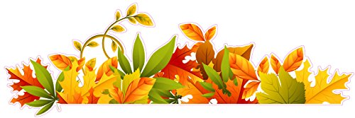 Nostalgia Decals Fall Colors Autumn Border Wall or Window Decor Decal 12