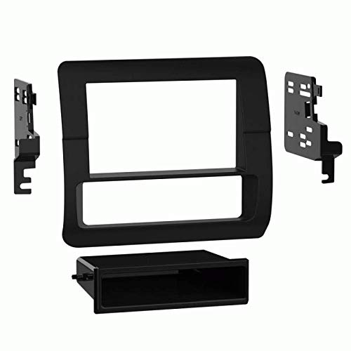 Metra 95-5701 Double Din Dash kit - fits 92-96 Ford F Series Trucks - 1992-1996 Bronco - 1997 F250-1997 ()