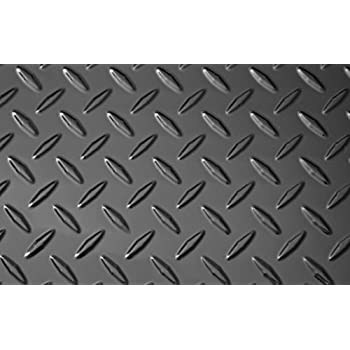 Black Diamond Plate Thermoplastic Sheet 24  x 48  ...  sc 1 st  Amazon.com : plastic checker plate - pezcame.com