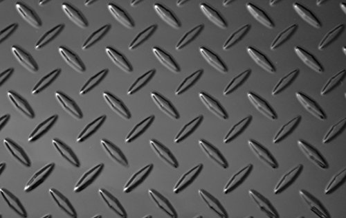 Black Diamond Plate Thermoplastic Sheet 24