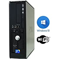 Windows 10 Pro Desktop SFF PC ~ Dell 780 SFF Desktop Computer ~ Fast and Powerful 2.93 GHz Intel Core 2 Duo Processor ~ 16GB DDR3 ~ 160GB SATA HDD ~ DVDROM (Certified Refurbished)