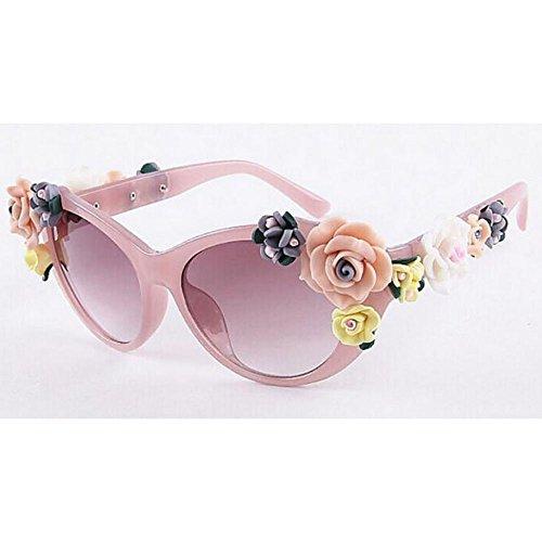 de sol Gafas sol para sol de de Gafas Gafas de Gafas sol vacaciones Protección la en de XIAOLIN UV para de HD Gafas 03 personalidad playa exteriores par sol sol Gafas la de de tridimensionales moda Gafas 0qdC7x1