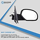 ECCPP Passenger Side Mirror Right Side Rear View