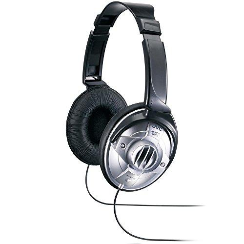 JVC HA-V570 Supra-Aural Headphones Headphones Silver Headphones