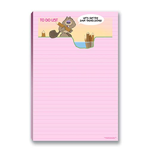 To Do List Funny Notepad with Magnet - 8.5