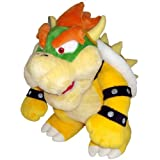 Nintendo Official Super Mario Bowser Plush, 10""