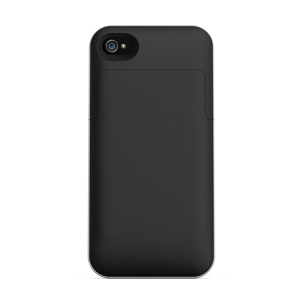 Mophie 1145_JPAXP4 Juice Pack Air Case and Rechargable Battery Black Iphone 4s (Discontinued by Manufacturer)