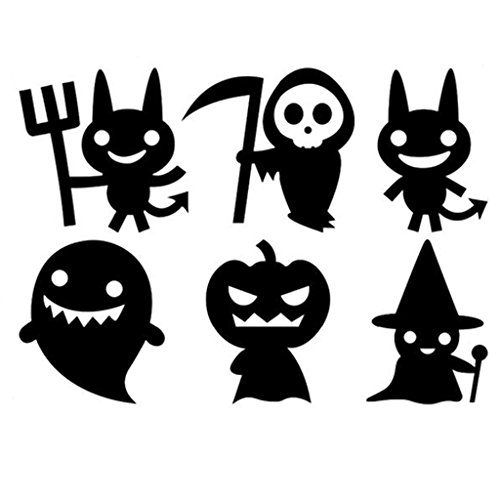 Gigory Halloween Wall Sticker Pumpkins Spooky Wall Decals Window Stickers for Kids Rooms Nursery Halloween Party