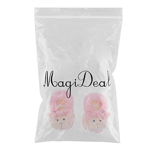 MagiDeal Krabbelschuhe Lauflerner Babyschuhe Hausschuhe Farbe 3