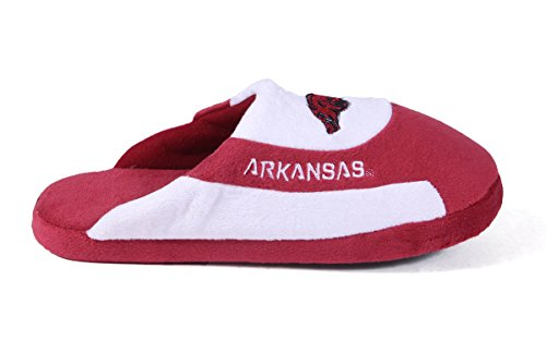 Happy LICENSED Low Feet Slippers Mens and Razorbacks Womens College NCAA Pro OFFICIALLY Arkansas U4UOwq