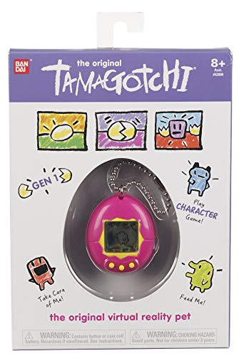 Tamagotchi Electronic Game, Pink/Yellow - coolthings.us