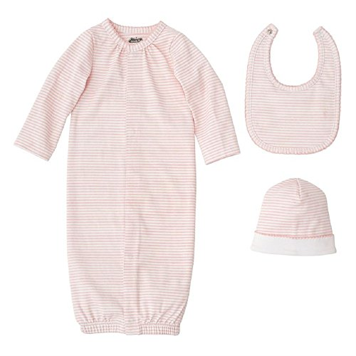 Mud Pie Layette 0 to 3 Months Cotton Gift Baby Clothing Pink Set Layette Apparel