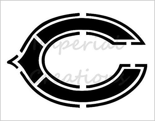 C CHICAGO BEARS Football Team 8.5