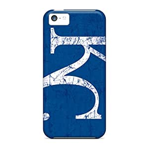 Marycase88 Iphone 5c Shock Absorbent Hard Phone Cases Provide Private Custom Lifelike Kansas City Royals Image [hqR7272orXQ]